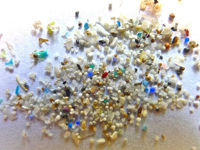 Los microplásticos conquistan el planeta